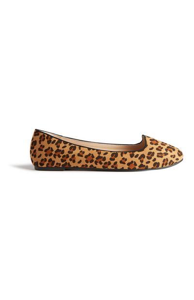 Ballerinas mit Leopardenmuster