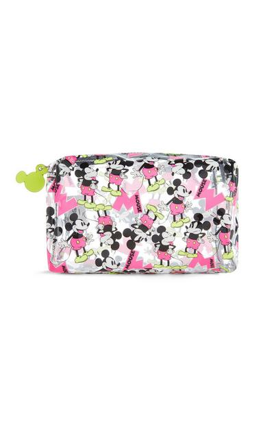 Mickey Mouse Clear Makeup Bag