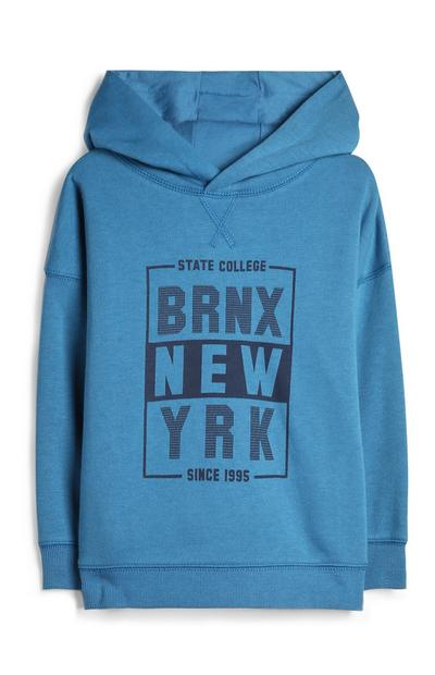 Younger Boy New York Hoodie