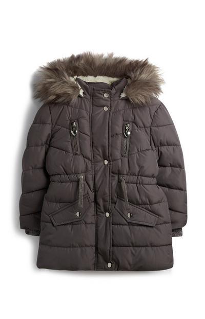 Younger Girl Grey Jacket