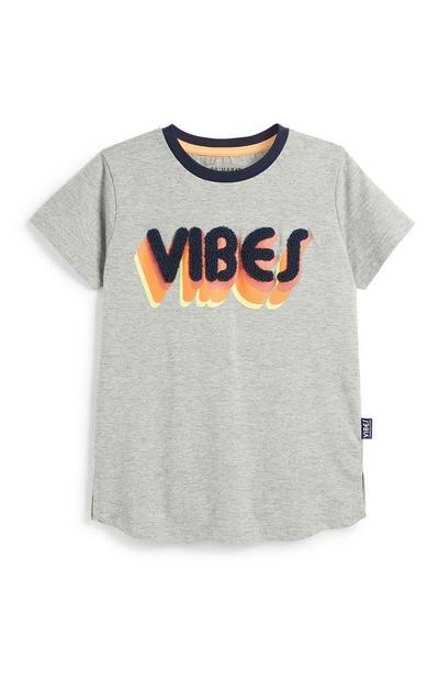 """Vibes"" T-Shirt (kleine Jungen)"