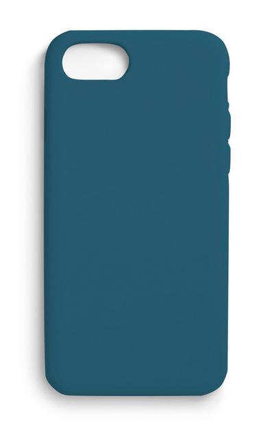 Blaue Handyhülle
