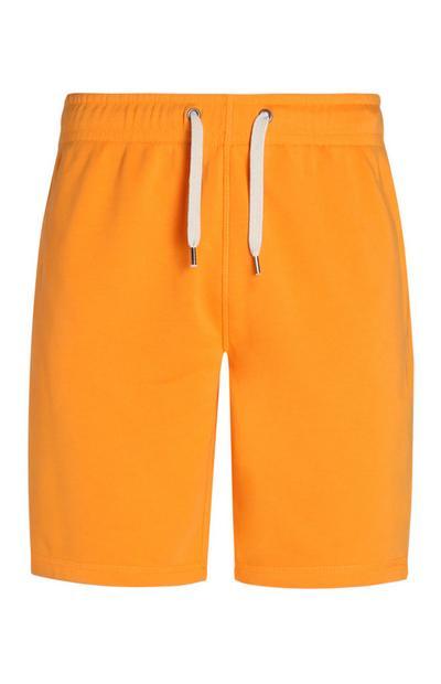 Neon Orange Shorts