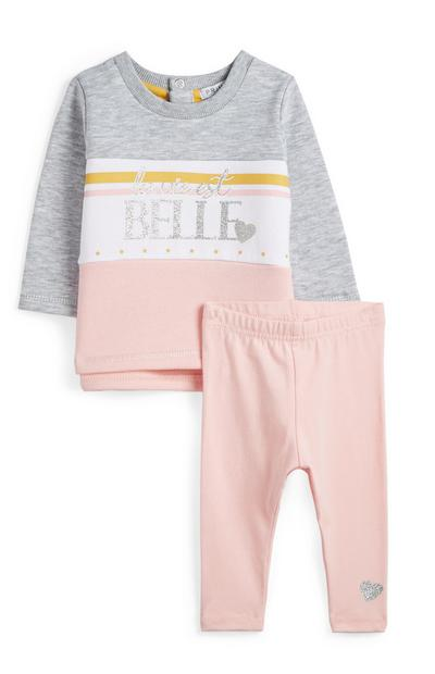 Baby Girl Outfit 2Pc