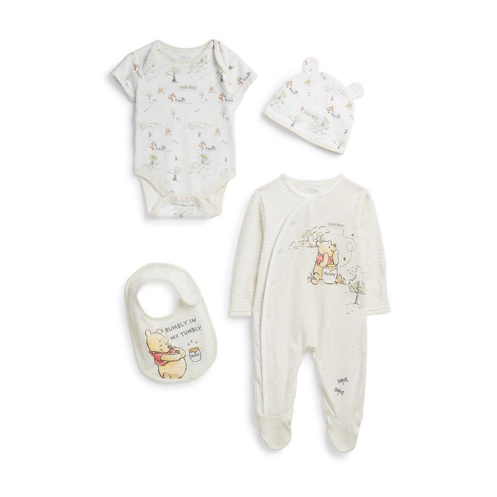 newborn-winnie-the-pooh-outfit-4pc by primark