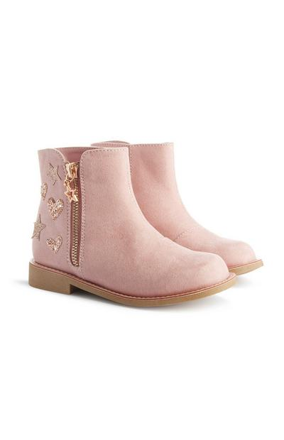 Pink Star Boots