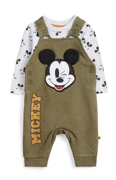 Newborn Mickey Mouse Dungarees