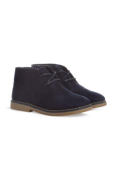 Younger Boy Navy Shoes