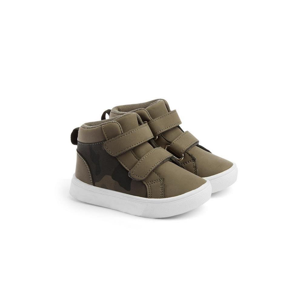 Baby Boy Camo High Tops by Primark
