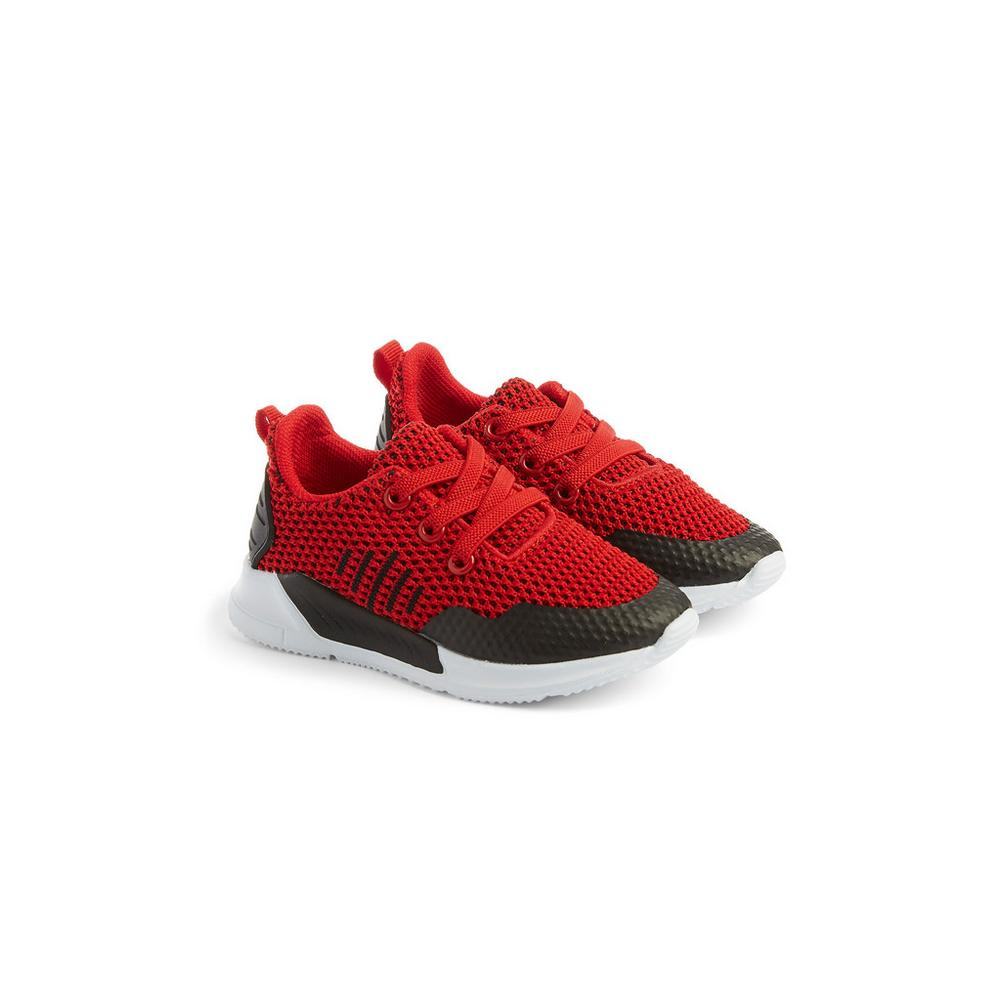 baby-boy-red-trainers by primark