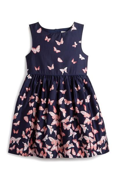 Kleid mit Schmetterlingen (kl. Mädchen)