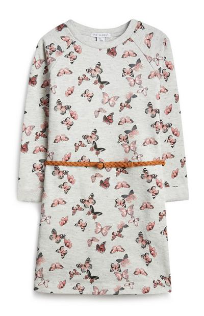 Younger Girl Butterly Dress