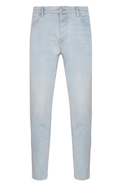 Blaue Slim-Fit-Jeans
