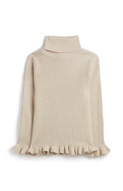 Pullover mit Rollkragen (kleine Mädchen)