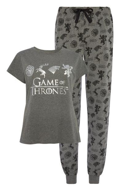 Grey Game Of Thrones Pyjamas