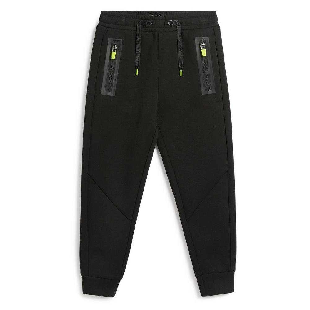 younger-boy-sporty-black-jogger by primark