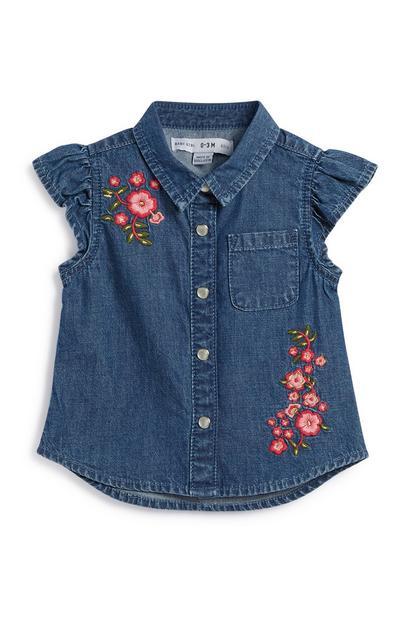 Jeanshemd für Babys (M)