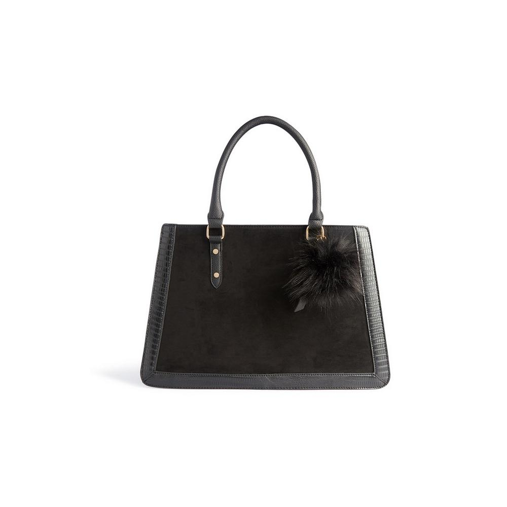 black-structured-tote by primark