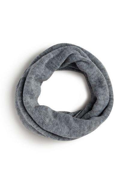 Loop-Schal in Grau