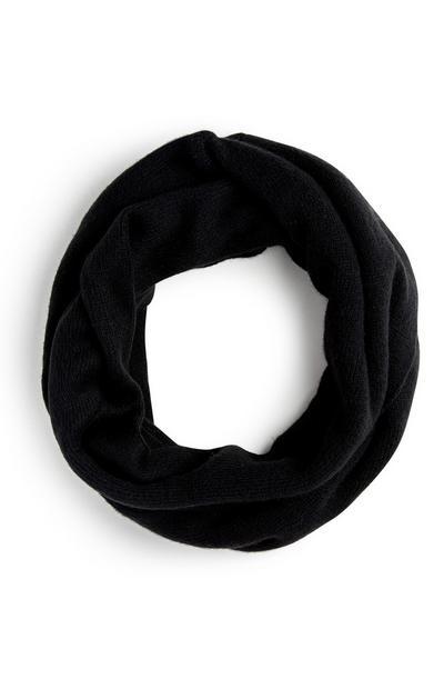 Loop-Schal in Schwarz