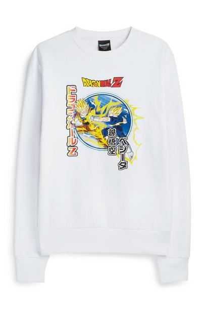 "Weißer ""Dragon Ball Z"" Pullover"