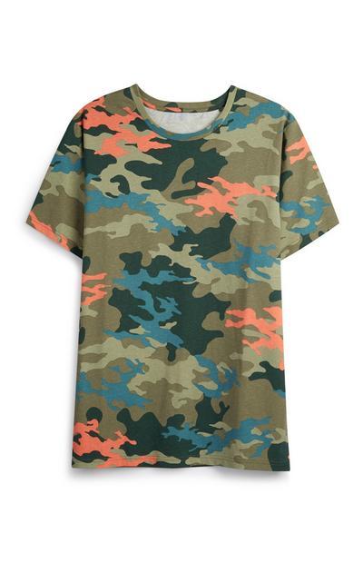 T-Shirt mit Tarnmuster