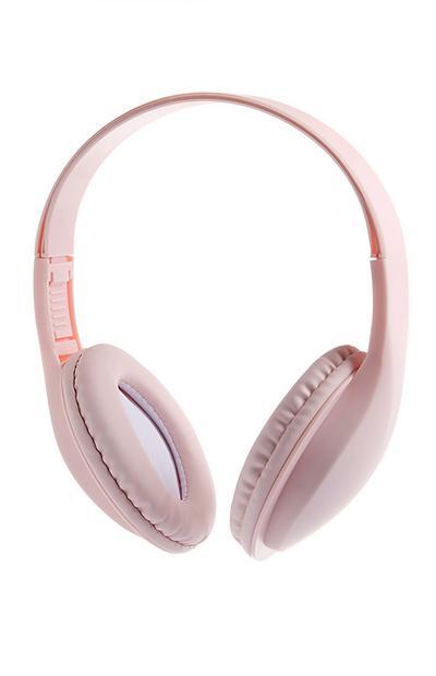 Pink Wireless Headphones