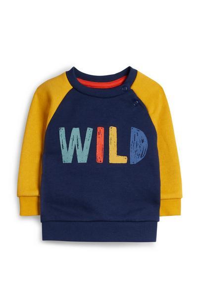 Baby Boy Wild Crew Neck T-Shirt