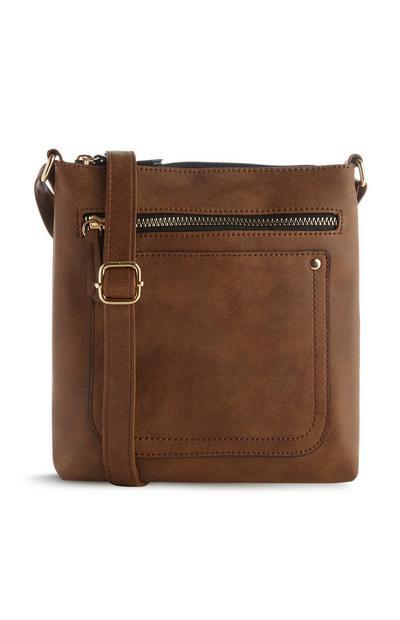 Braune Messenger-Tasche