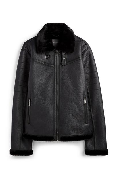 Black Aviator Jacket