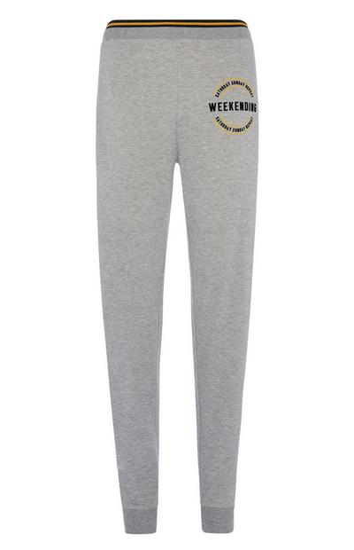 Grey Loungewear Trousers