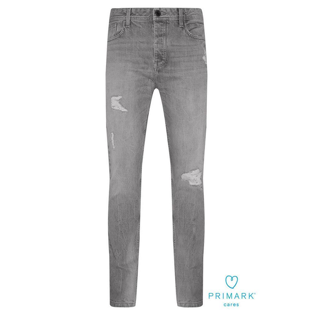 neue Produkte für üppiges Design zahlreich in der Vielfalt Graue Jeans aus nachhaltiger Baumwolle im Used-Look | Jeans ...