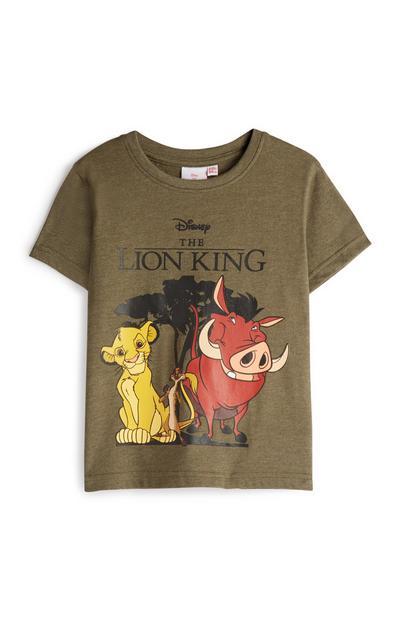 """T-Shirt mit """"König der Löwen""""-Motiv"""
