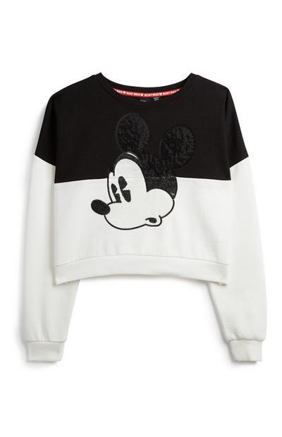 Older Girl Mickey Mouse Sweatshirt