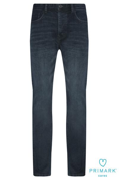 Straight Leg Sustainable Cotton Jeans