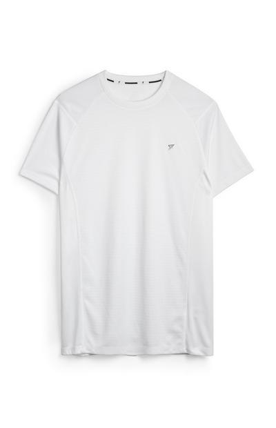 White Workout T-Shirt