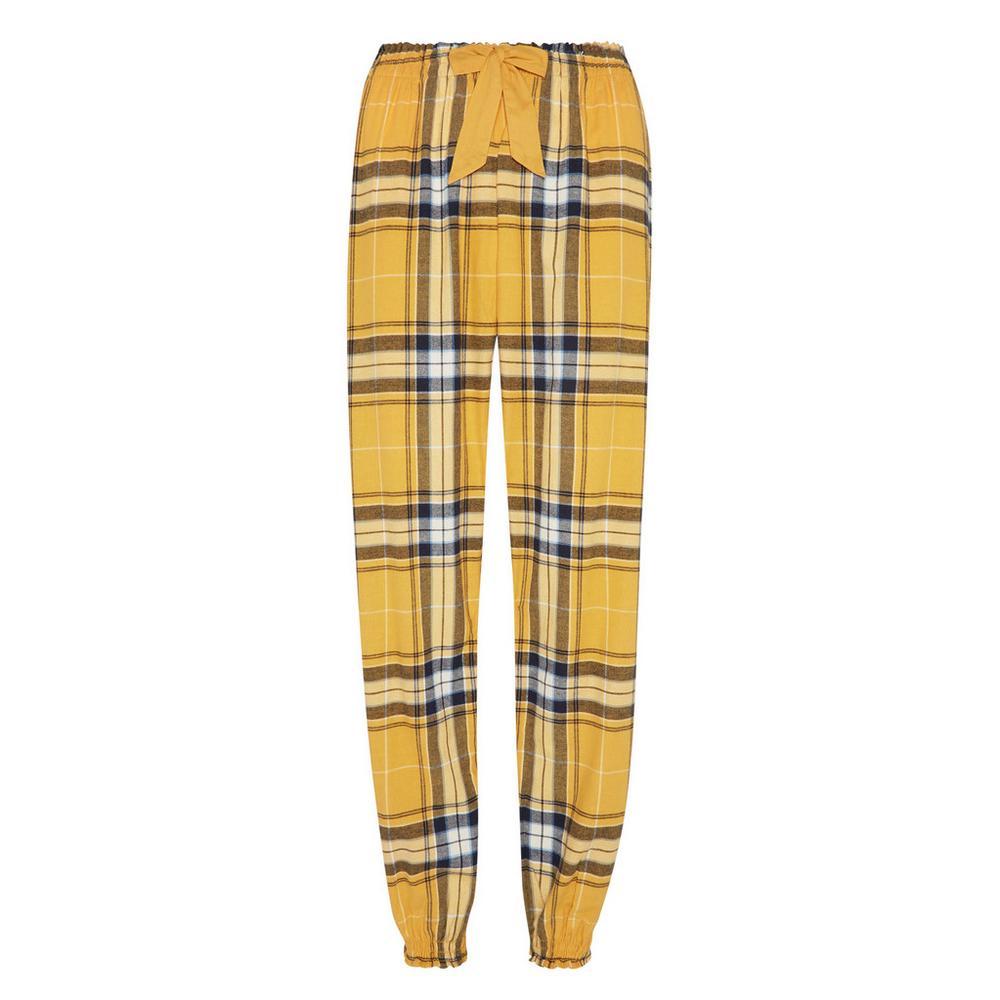 beste Qualität für offizielle Fotos echte Qualität Gelbe Flanell-Pyjamahose | Pyjamas | Damenmode | Kategorien ...