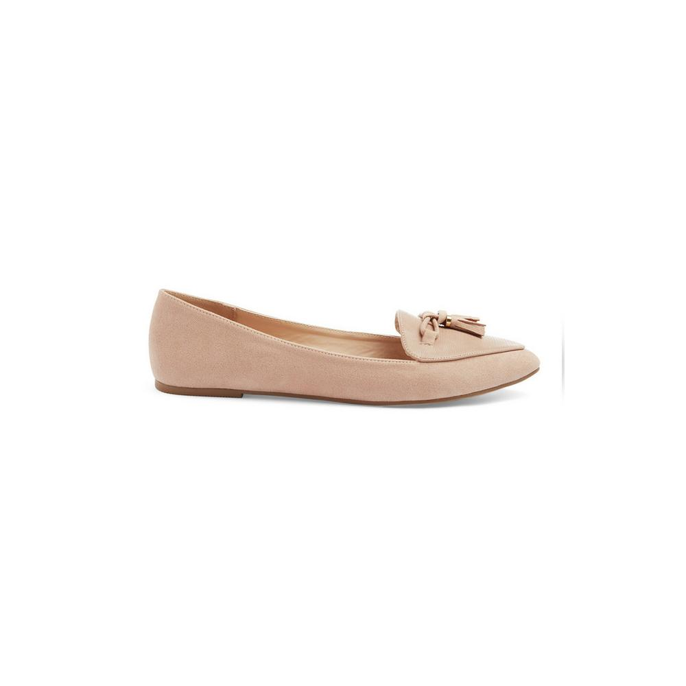 pretty nice e88db 3a423 Beige Pointed Ballerina Pump | Ballerinas | Shoes & Boots ...