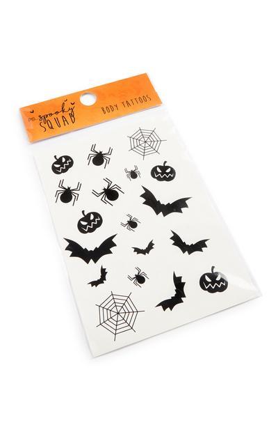 Halloween Body Tattoos