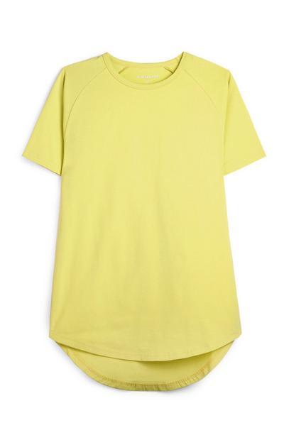 Yellow Longline T-Shirt