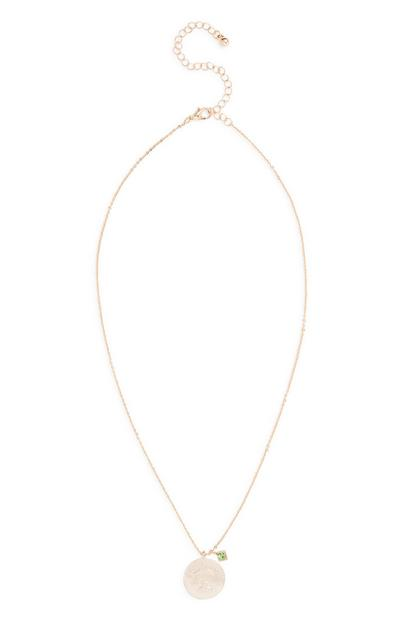 Horoscope Libra Charm Necklace