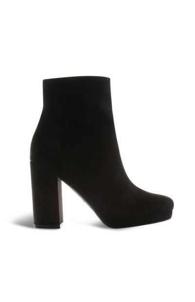 Black Platform Boot