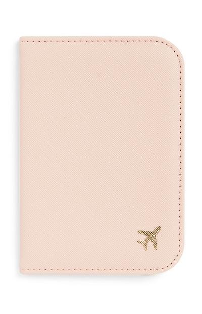 Pink Passport Holder