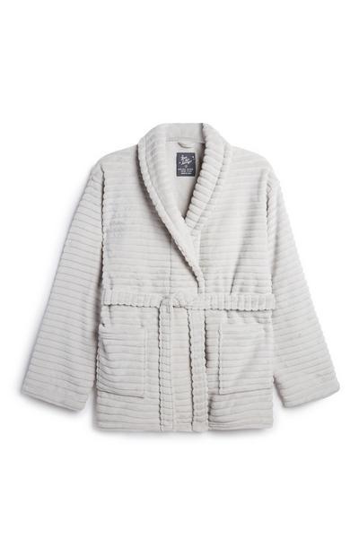 Light Grey Robe Cardigan
