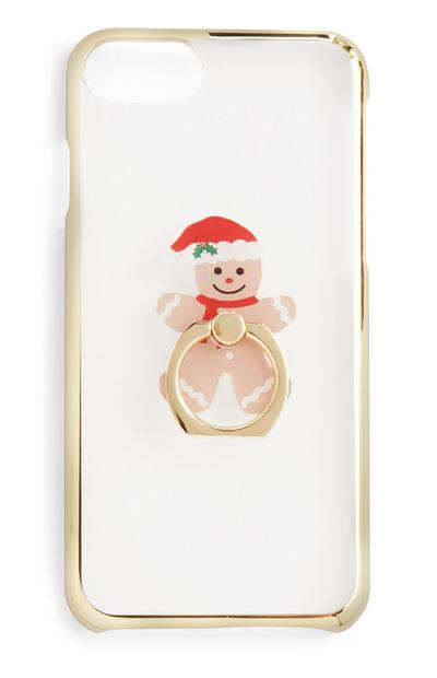 Gingerbread Ring Holder Phone Case