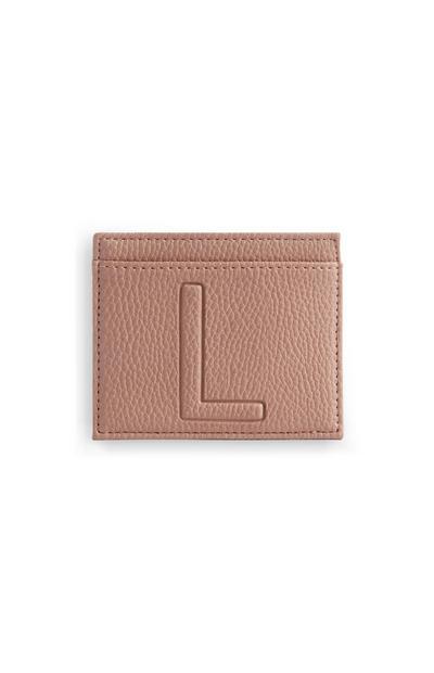 Letter L Cardholder