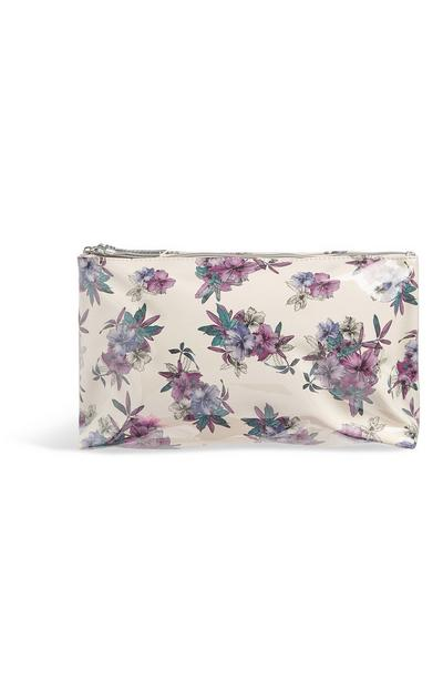 Floral Toiletries Bag