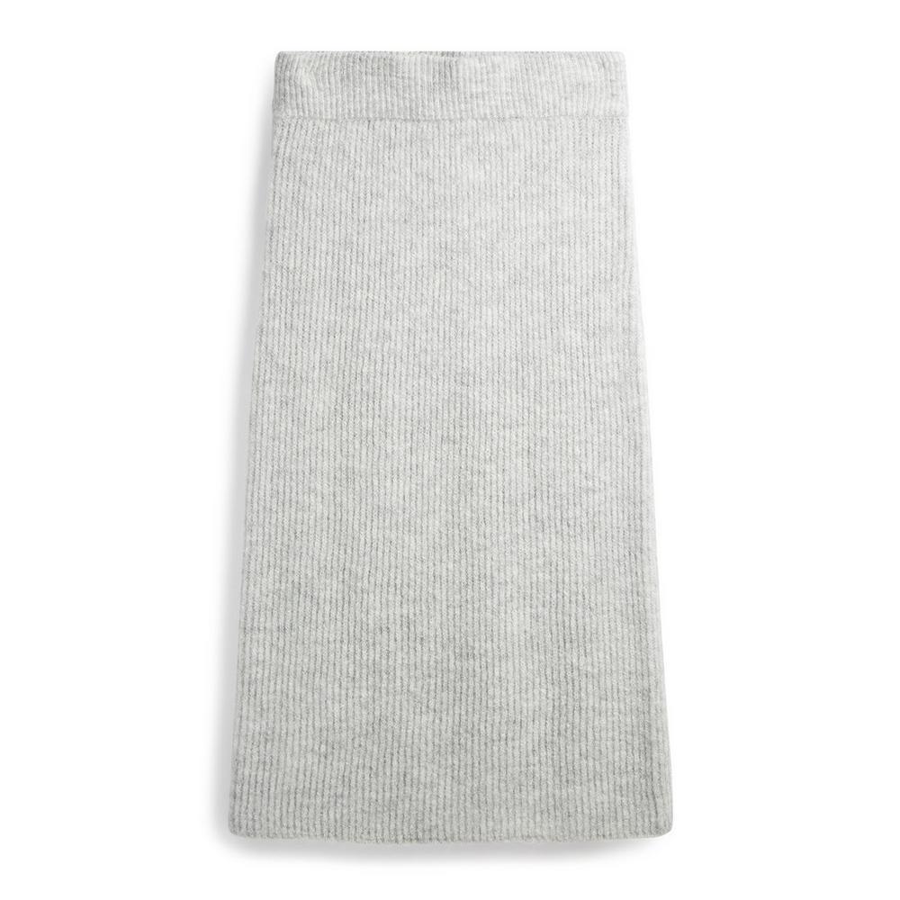 grey-co-ord-midi-skirt by primark