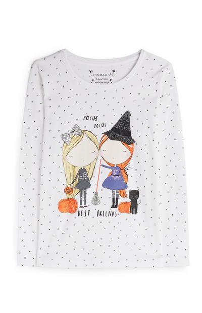 Younger Girl Halloween T-Shirt