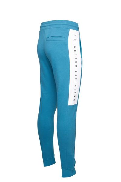 Blue Tracksuit Trousers